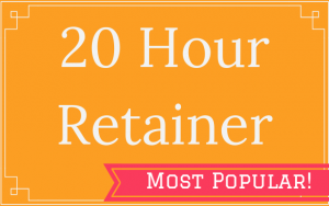 20 Hour Retainer - Thought Penny
