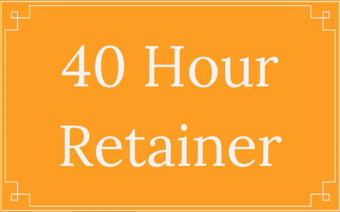 40 Hour Retainer - Thought Penny